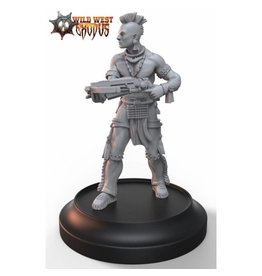 Warcradle Studios Warrior Nation Brave with Crossbow (Light Support)
