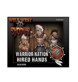 Warcradle Studios Warrior Nation Scalpers Box (Hired Hands)