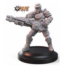 Warcradle Studios UR-31 Military Bot (Sidekick)