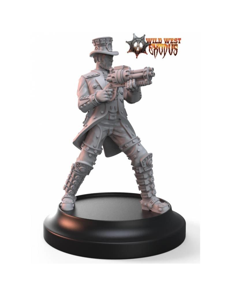 Warcradle Studios Agent Henry Courtright (Sidekick)