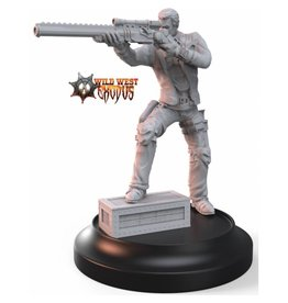 Warcradle Studios Outlaw Bandit with Sniper Rifle (Light Support)