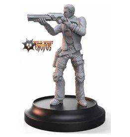 Warcradle Studios Outlaw Bandit with Shotgun (Light Support)