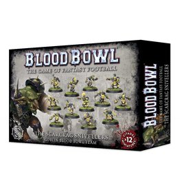 Games Workshop BLOOD BOWL SCARCRAG SNIVELLERS (GOBLIN TEAM)
