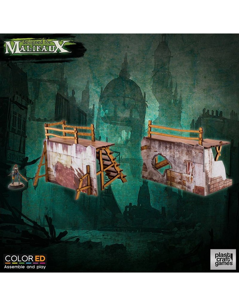 Plastcraft Old Town Barricades