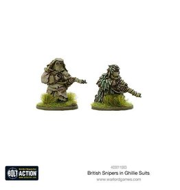 Warlord Games Snipers in Ghillie suits