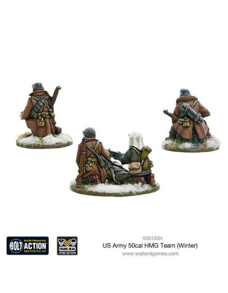 Warlord Games US Army 50cal HMG Team (Winter)