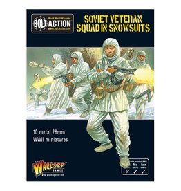 Warlord Games Soviet Veteran Squad in Snowsuits