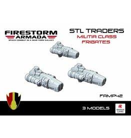 Spartan Games STL Traders Militia Class Frigate