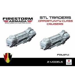 Spartan Games STL Traders Opportunity Class Cruiser