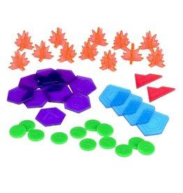 Mantic Games Warpath Plastic Counter Set