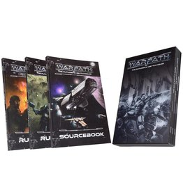 Mantic Games Warpath Rulebook Collection