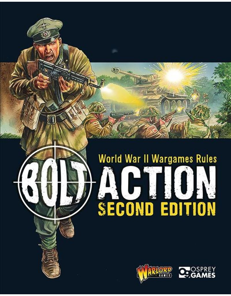 Warlord Games Bolt Action Rulebook 2nd Edition