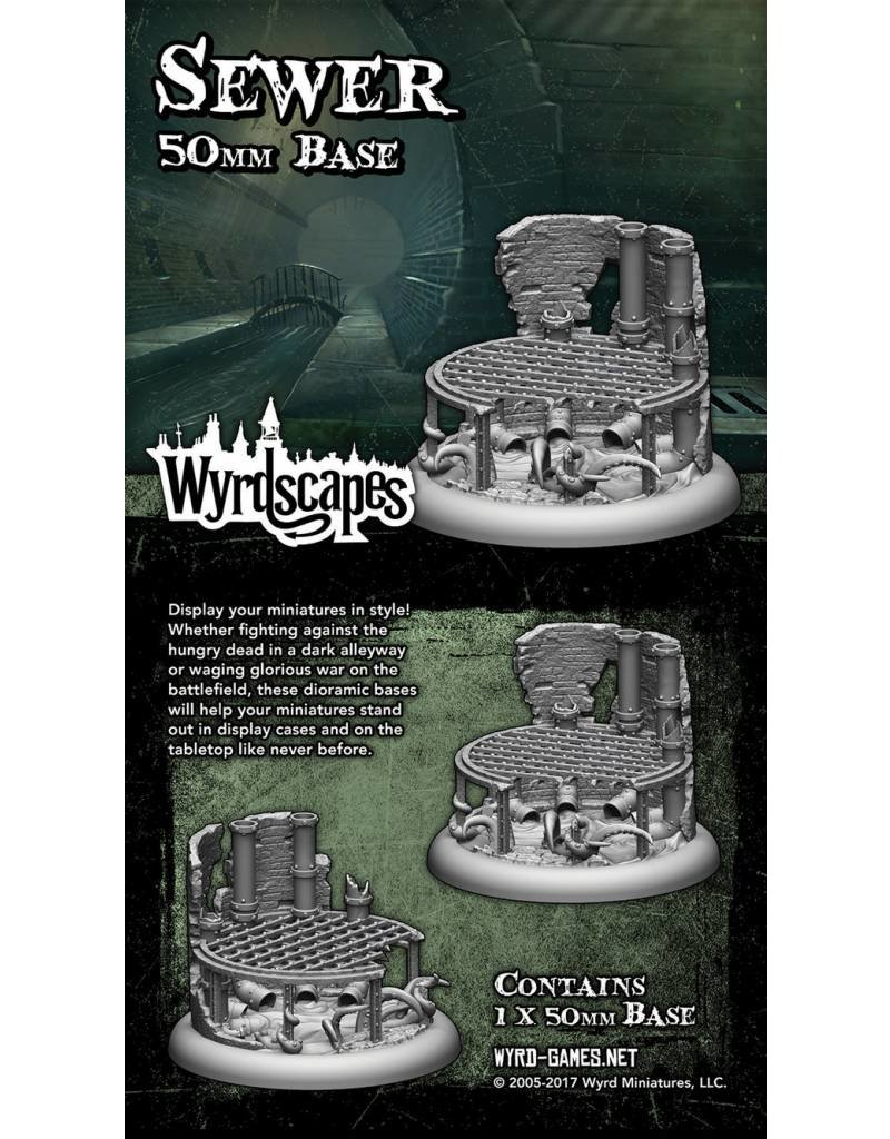 Wyrd Sewer 50MM Bases