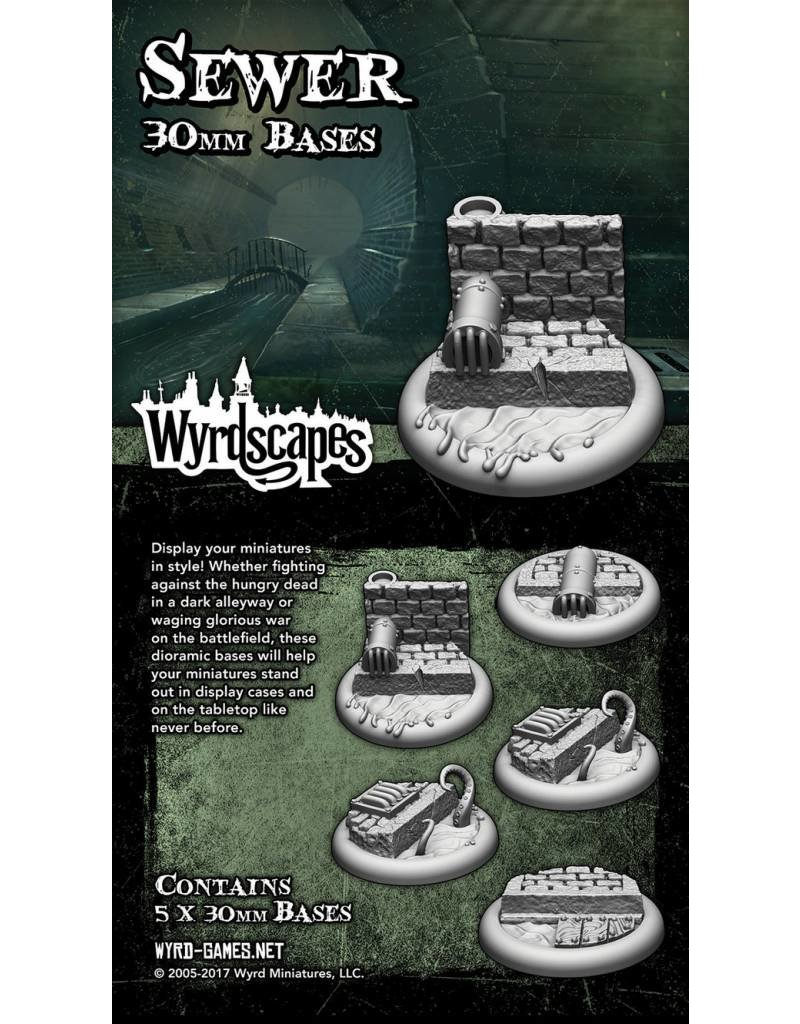 Wyrd Sewer 30MM Bases