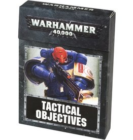Games Workshop WH40K: TACTICAL OBJECTIVE CARDS (ENG)