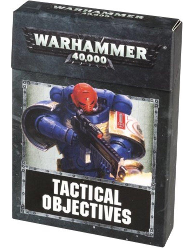 Games Workshop Warhammer 40k: Tactical Objective Cards (EN)