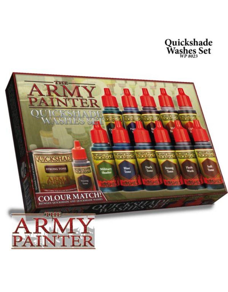 The Army Painter Army Painter Quickshades Washes Set