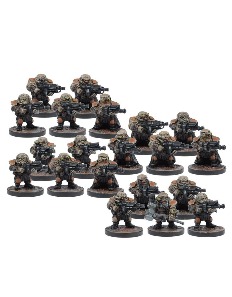 Mantic Games Warpath / Deadzone: Forge Father Militia