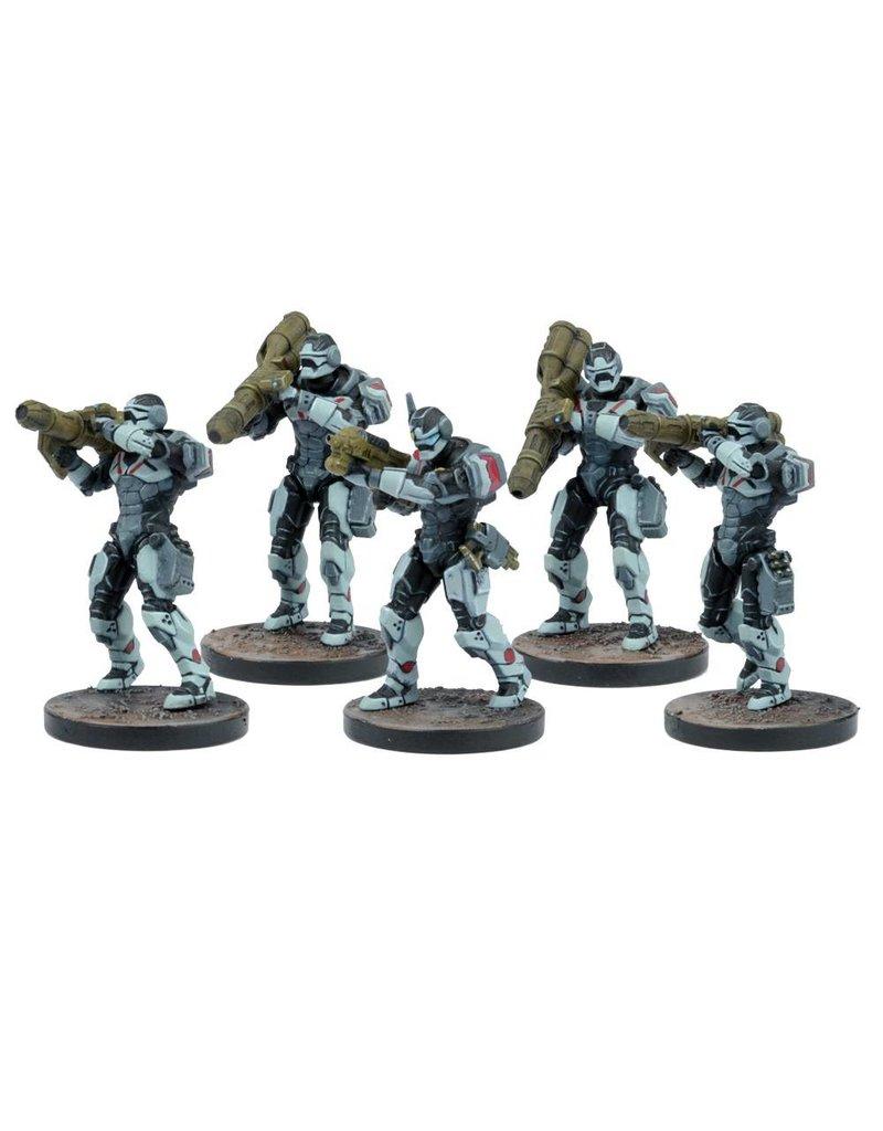 Mantic Games Warpath: Enforcer Heavy Support Team