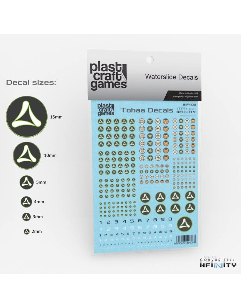 Plast-Craft Infinity Decals - Tohaa