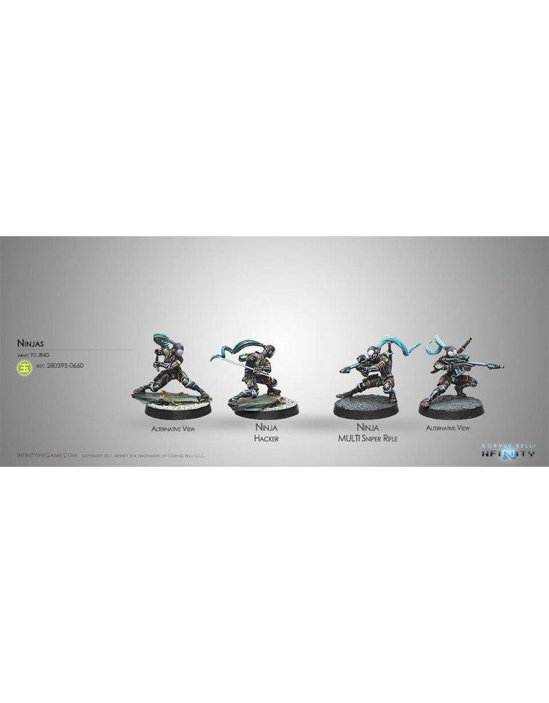 Corvus Belli Yu Jing Ninjas (MULTI Sniper/Hacker) Blister Pack