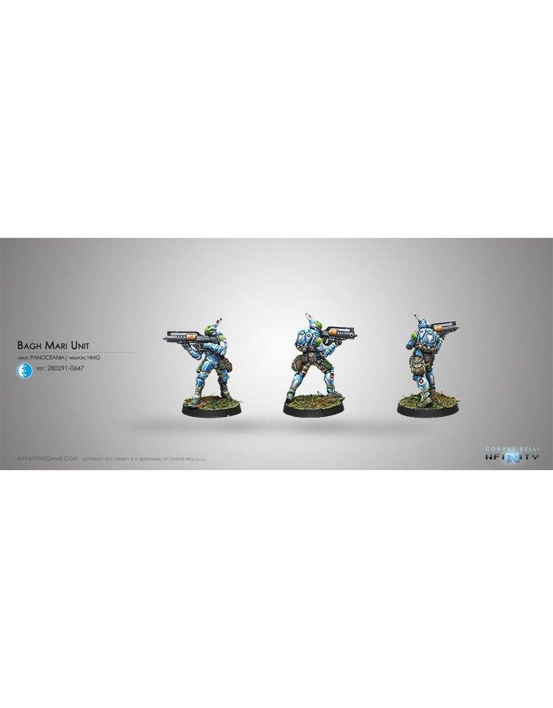 Corvus Belli Panoceania Bagh-Mari Unit (HMG) Blister Pack