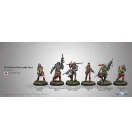 Corvus Belli Caledonian Highlander Army (Ariadna Sectorial Starter Pack)