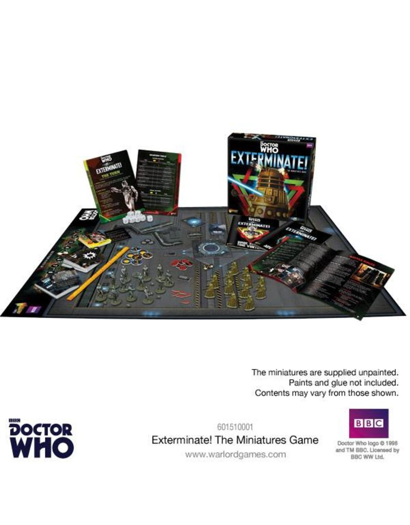 Warlord Games Exterminate! Dr Who Miniatures Games