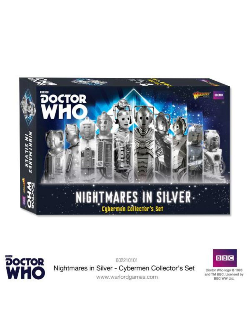 Warlord Games Nightmares in Silver: Cybermen Collectors set