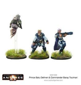 Warlord Games Prince Batu Delhren & Commander Baray Tsulmari