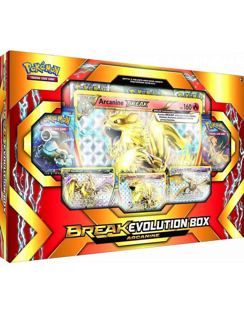 Pokemon BREAK Evolution Box Arcanine: Pokemon TCG