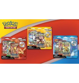 Pokemon Legendary Beasts Collector's Pin 3-Pack Blister (Raikou, Entei or Suicune): Pokemon TCG