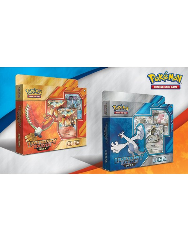 Pokemon Legendary Battle Deck (Ho-Oh and Lugia): Pokemon TCG