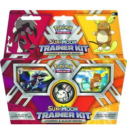 Pokemon Lycanroc & Alolan Raichu- Sun & Moon Trainer Kit: Pokemon TCG