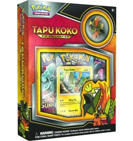Pokemon Tapu Koko Pin Collection: Pokemon TCG