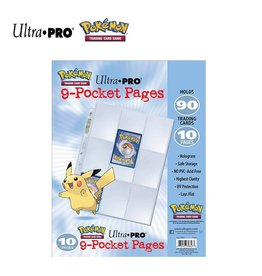 Pokemon Pokemon 9-Pocket Pages CDU 10 Pages per pack