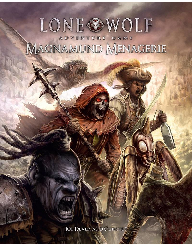 Cubicle 7 Magnamund Menagerie: Lone Wolf Adventure Game