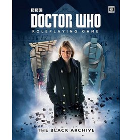 cubicle7 The Black Archive: Doctor Who RPG