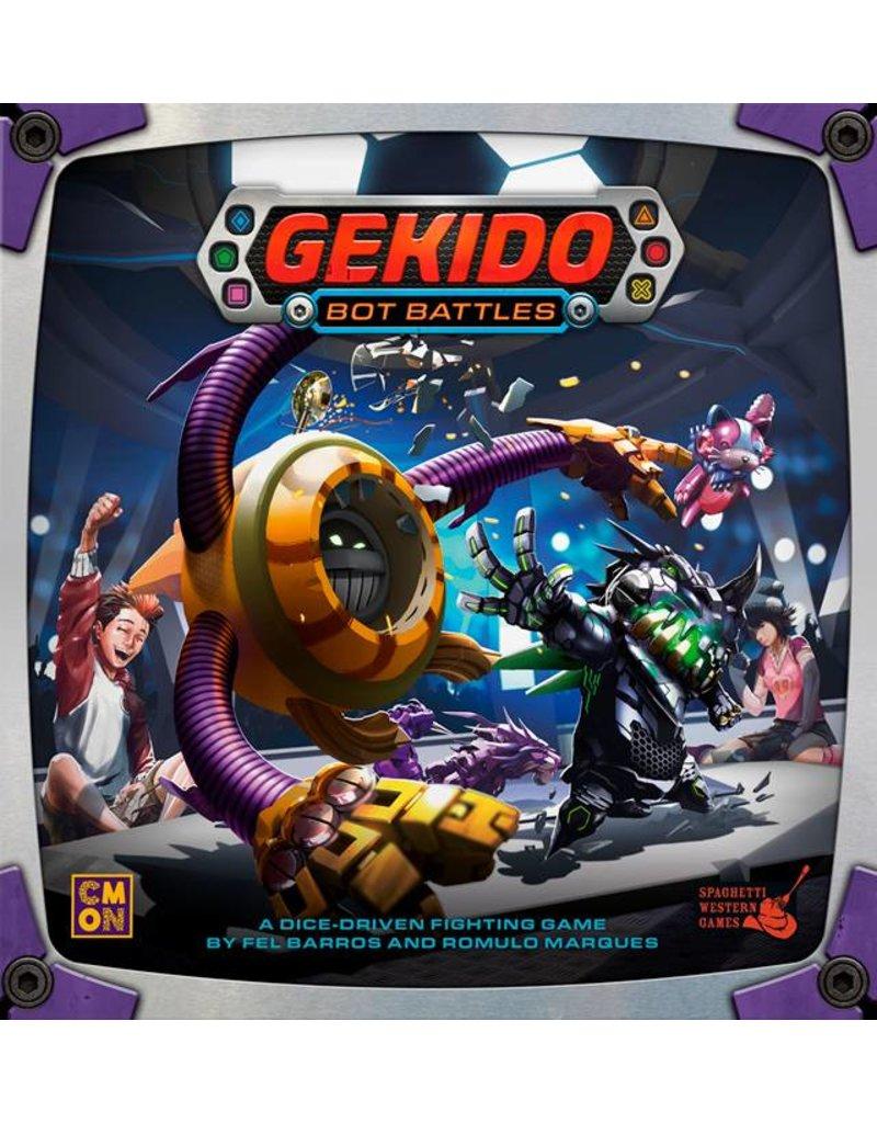 Cool Mini or Not Gekido Bot Battles