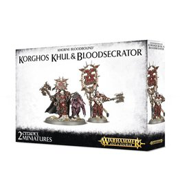 Games Workshop Korghos Khul & Blood Secrator