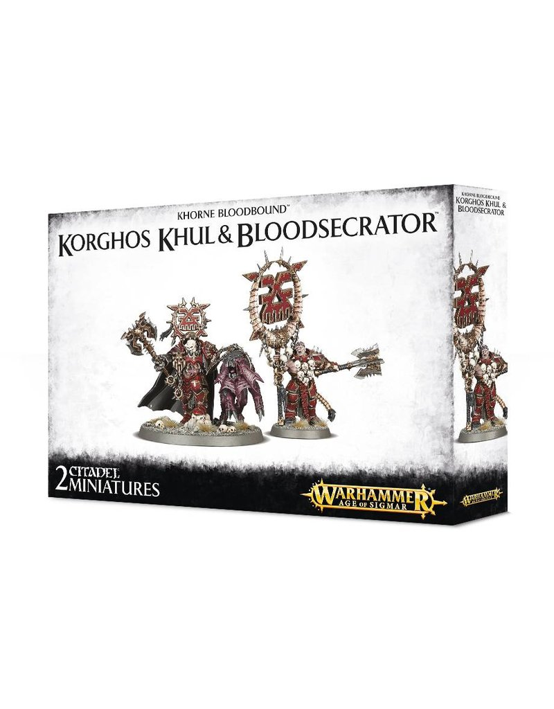 Games Workshop Khorne Bloodbound: Korghos Khul & Blood Secrator