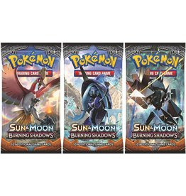 Pokemon Sun & Moon Burning Shadows Booster