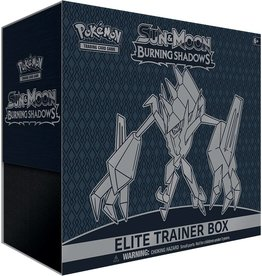 Pokemon Sun & Moon Burning Shadows Elite Trainer Box