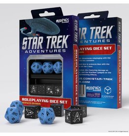 Modiphius Entertainment Star Trek Adventures Accessories: Sciences Blue Custom Dice