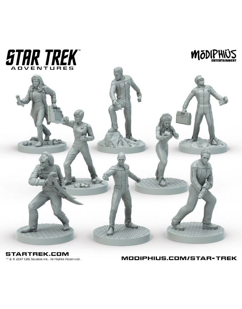 Modiphius Entertainment Star Trek Adventures: The Next Generation 32mm Miniatures