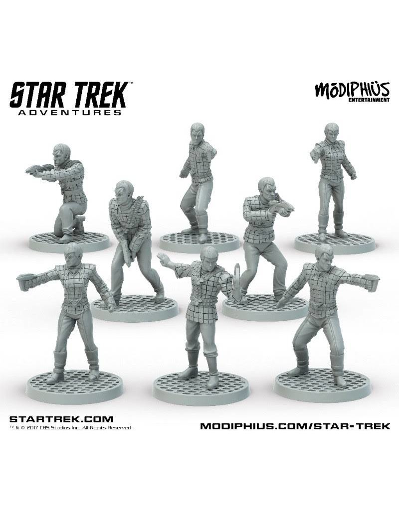 Modiphius Entertainment Star Trek Adventures: Romulan Strike Team 32mm Miniatures