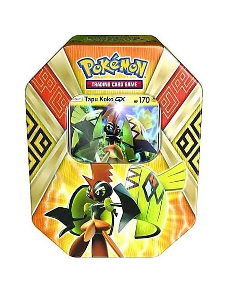 Pokemon Island Guardians Tin Summer 2017: Pokemon TCG