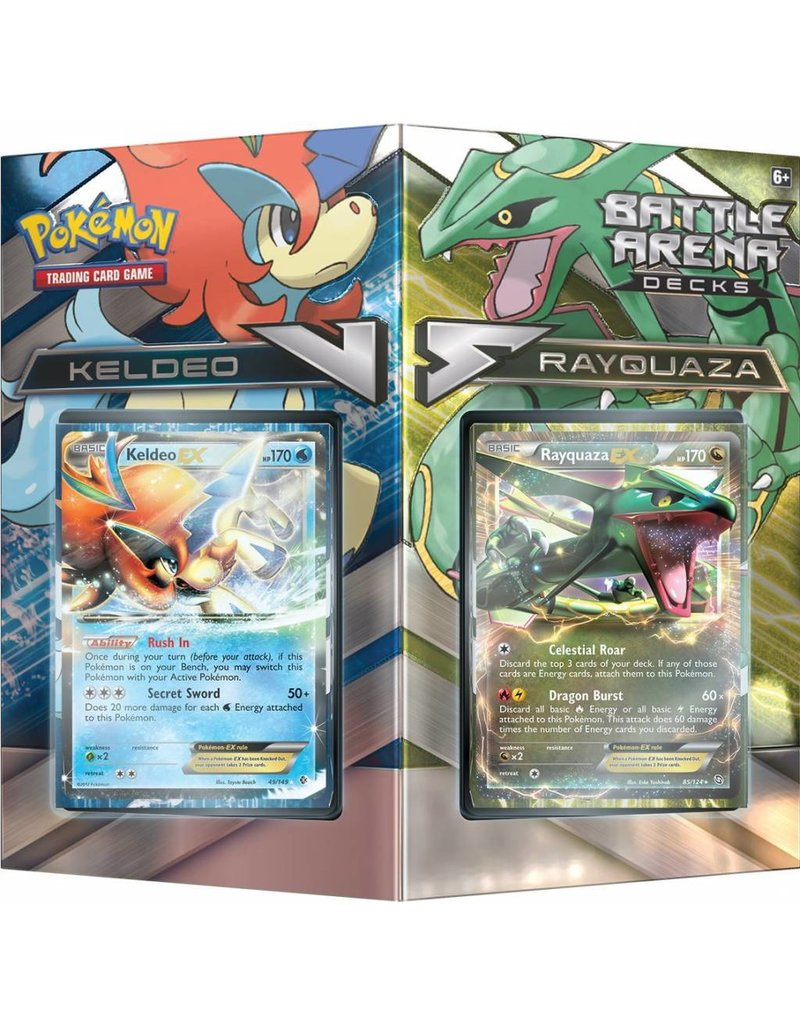Pokemon Battle Arena Decks: Rayquaza vs Keldeo: Pokemon TCG