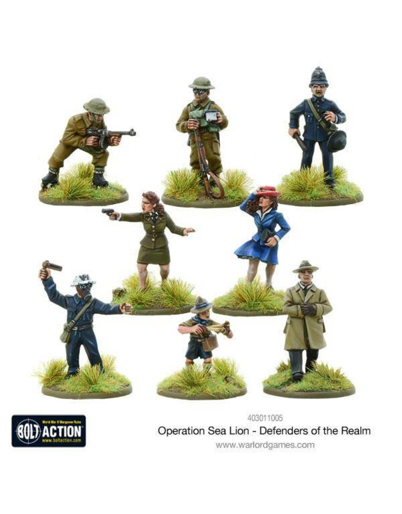 Warlord Games Operation Sea Lion Defenders of the Realm