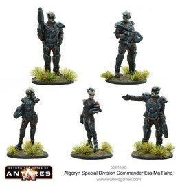 Warlord Games Algoryn Special Division Commander Ess Ma Rahq
